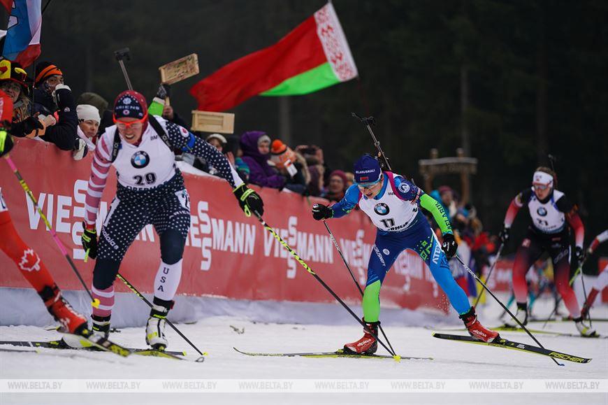 Ирина Кривко финишировала 7-й в масс-старте на этапе КМ