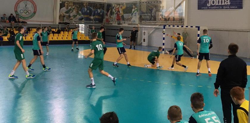 Финальный матч СКА-Юни-1 против СДЮШОР №8 г. Гродно. Фото: handball.by