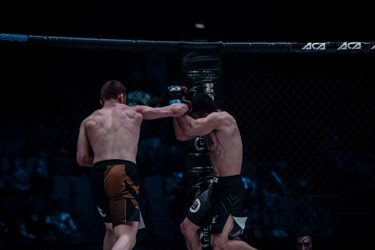 Илья Ходкевич на турнире АСА 121 в Минске