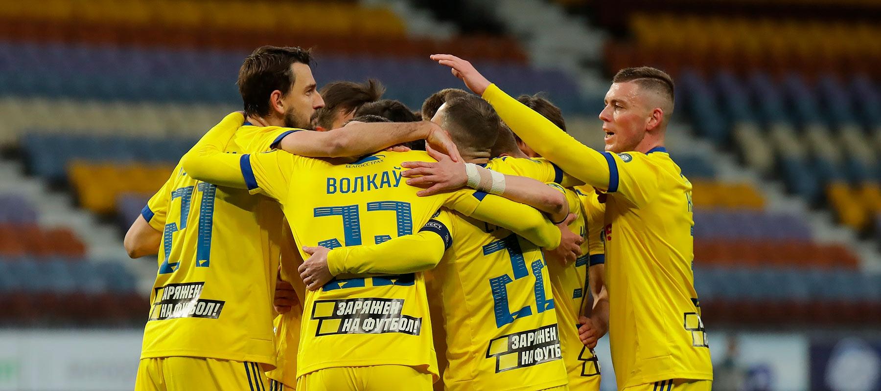 БАТЭ обыграл ''Славию'' в ответном полуфинальном матче Кубка Беларуси